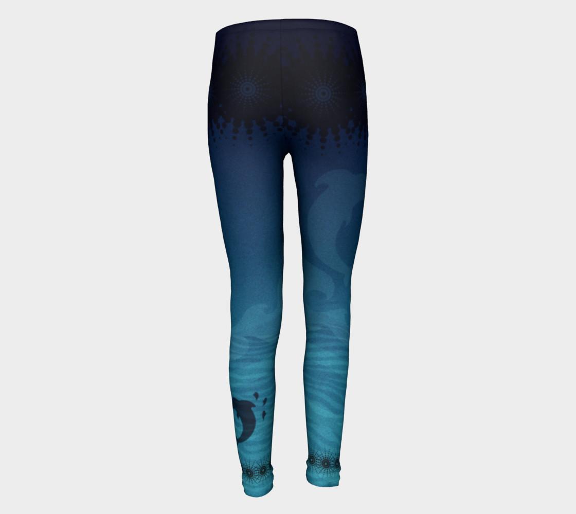 Kidz Dolphin Dreams Leggings preview #5