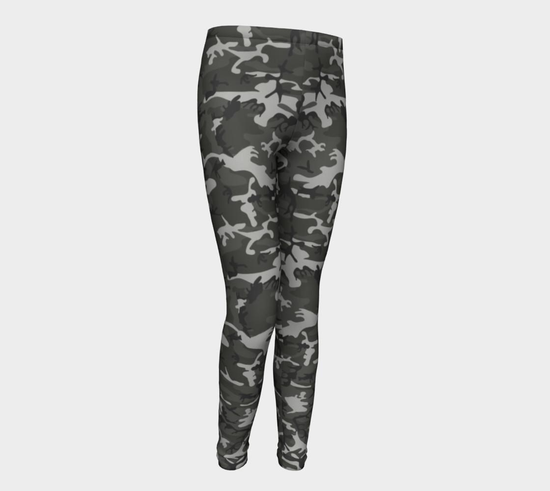 Aperçu de Winter Camo Youth Leggings #1
