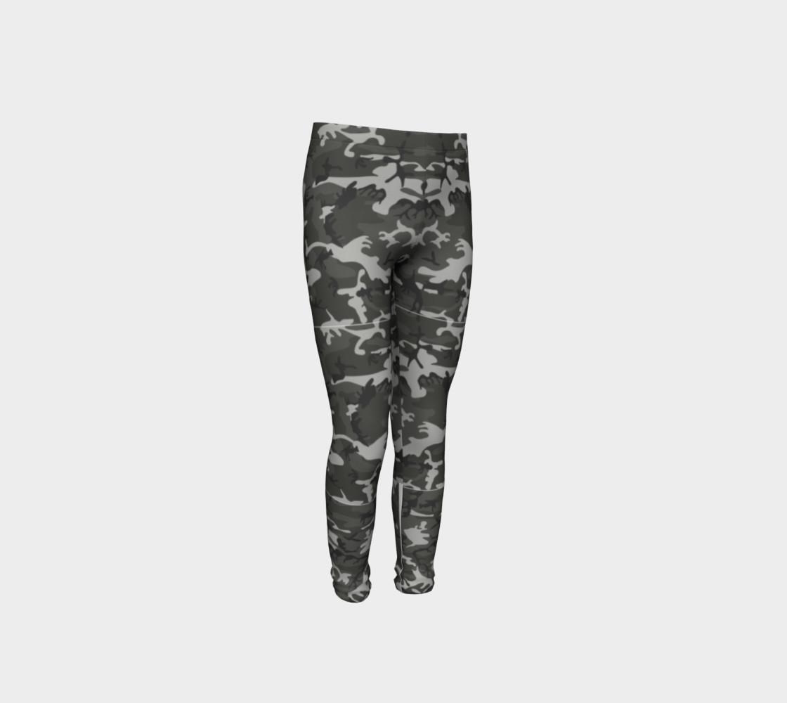 Aperçu de Winter Camo Youth Leggings #4