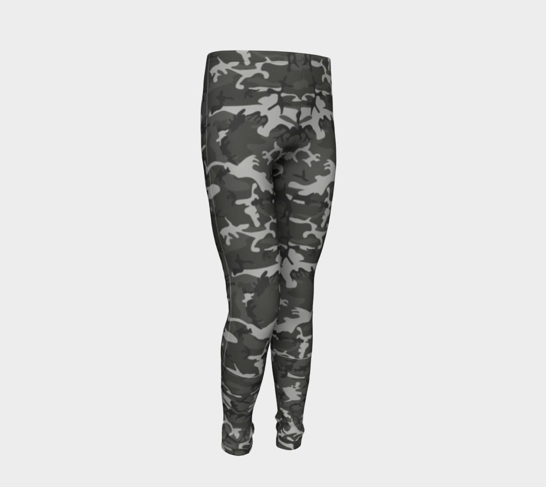 Aperçu de Winter Camo Youth Leggings #2