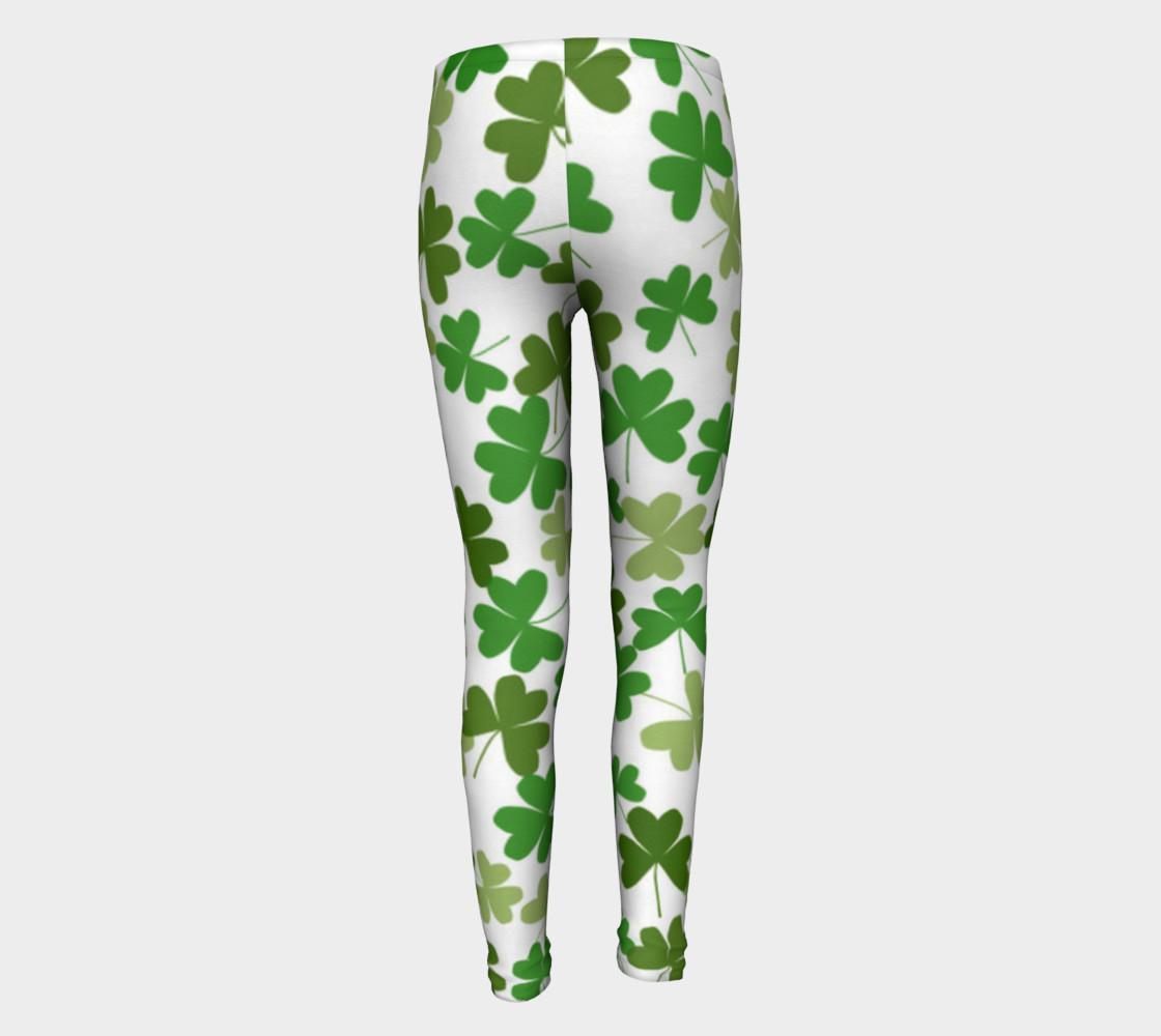 St. Patrick's Day Kid's Leggings preview #5