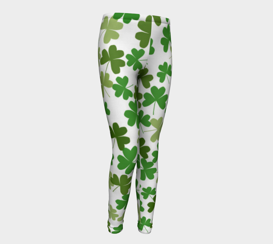 St. Patrick's Day Kid's Leggings preview #1