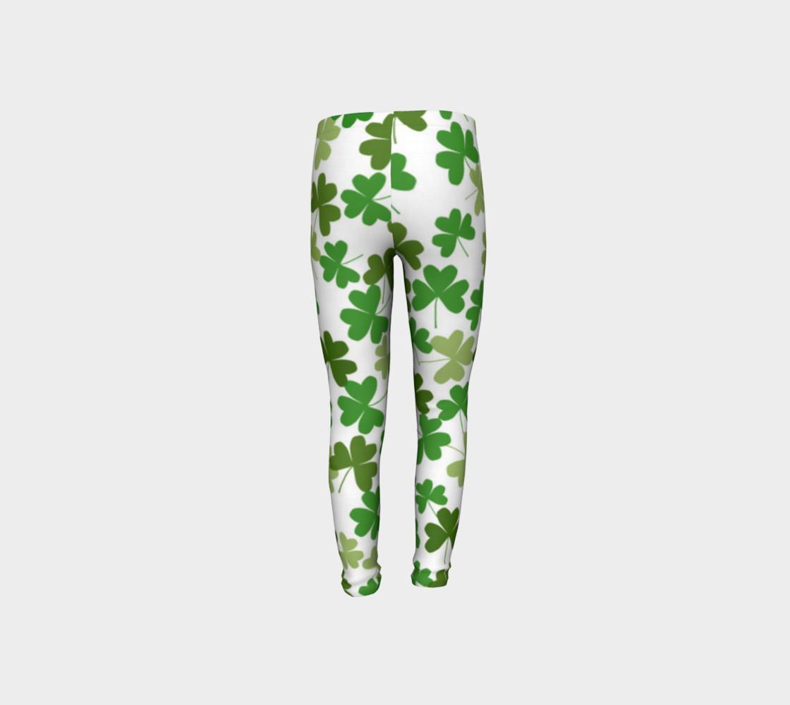 St. Patrick's Day Kid's Leggings preview #8