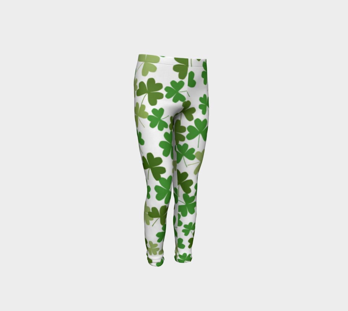 St. Patrick's Day Kid's Leggings preview #4