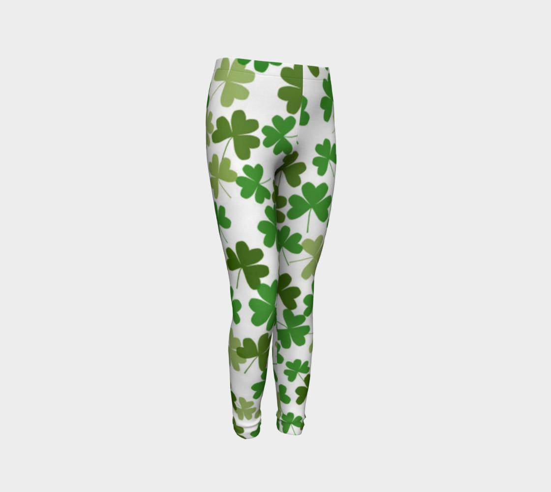 St. Patrick's Day Kid's Leggings preview #3