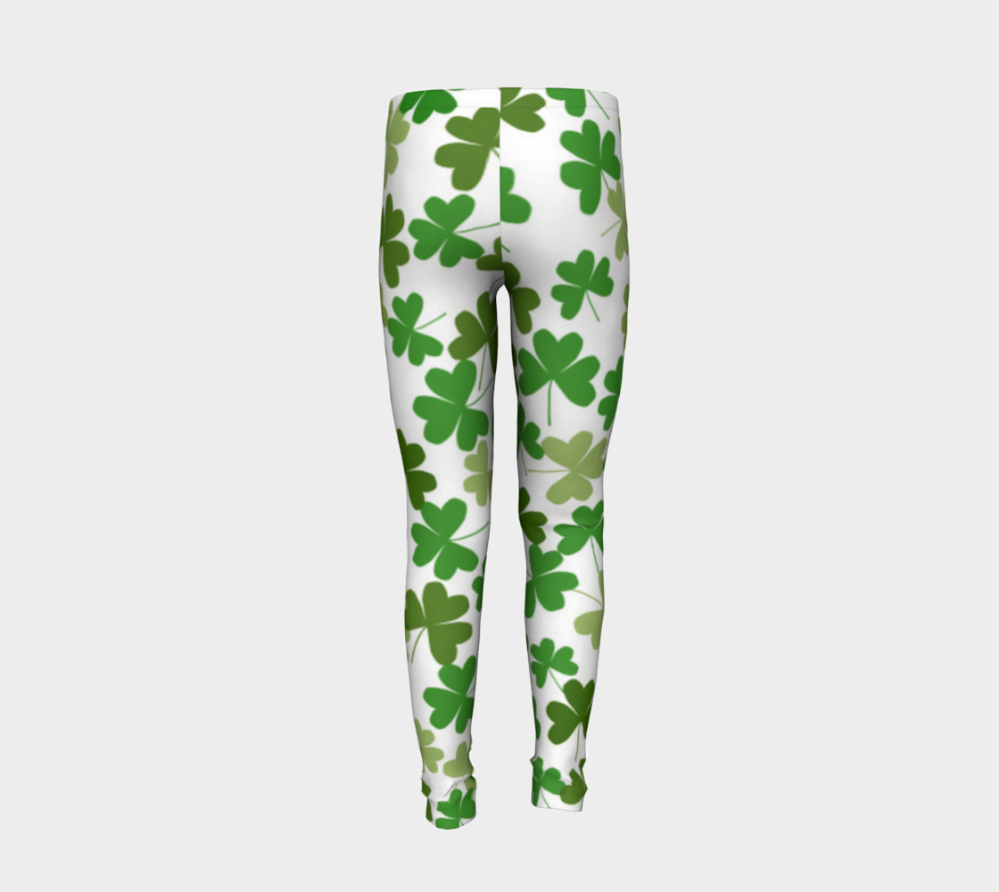 St. Patrick's Day Kid's Leggings preview #6