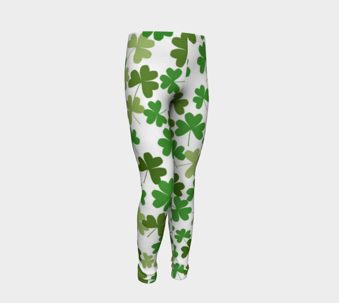 St. Patrick's Day Kid's Leggings preview #2