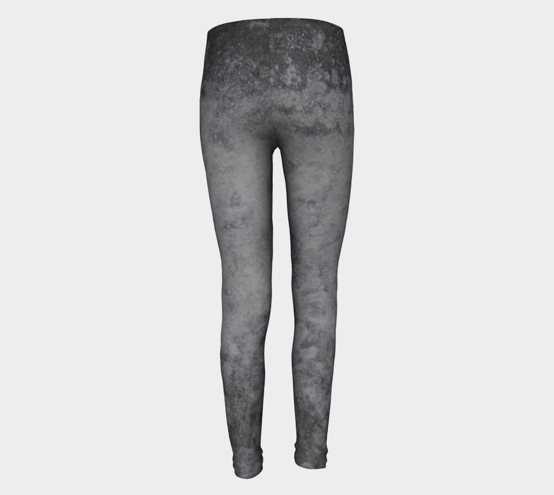 Urban grey patterned leggings preview #5