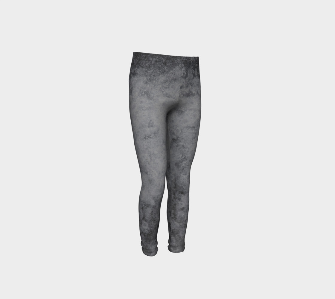 Urban grey patterned leggings preview #4