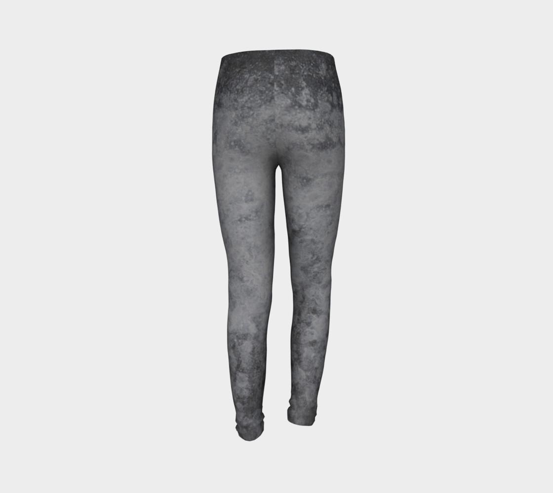 Urban grey patterned leggings preview #7