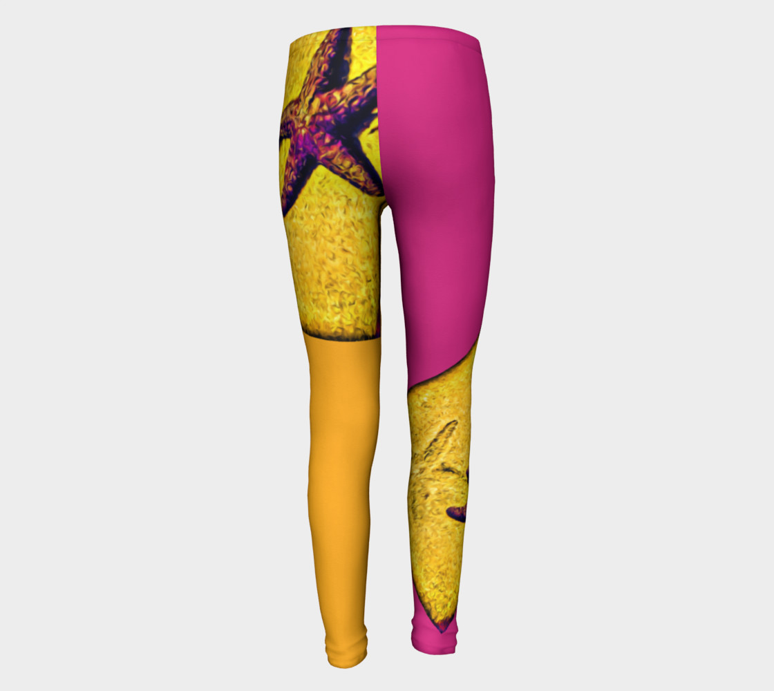 Star Track Youth Leggings preview #5