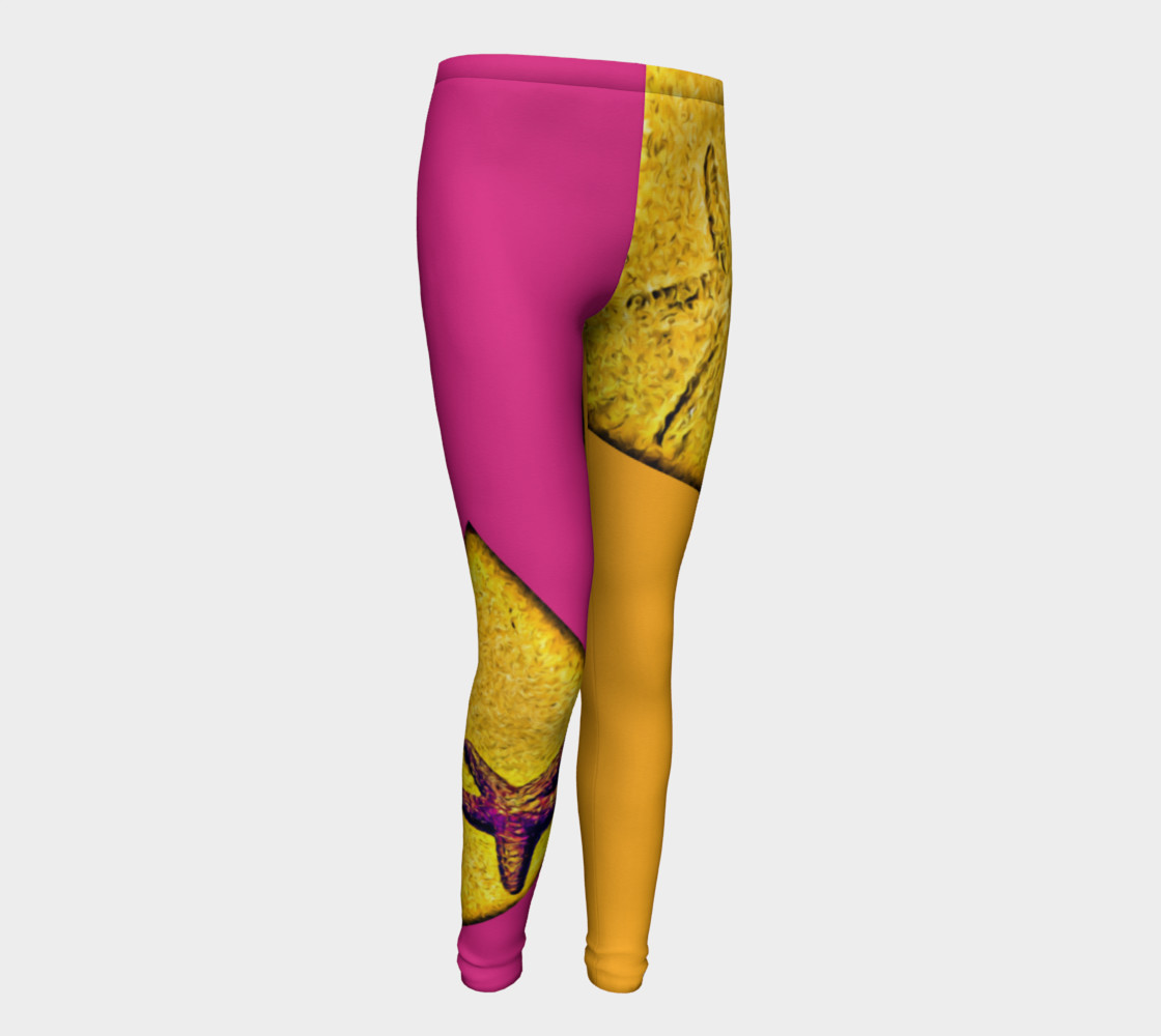 Star Track Youth Leggings preview #1