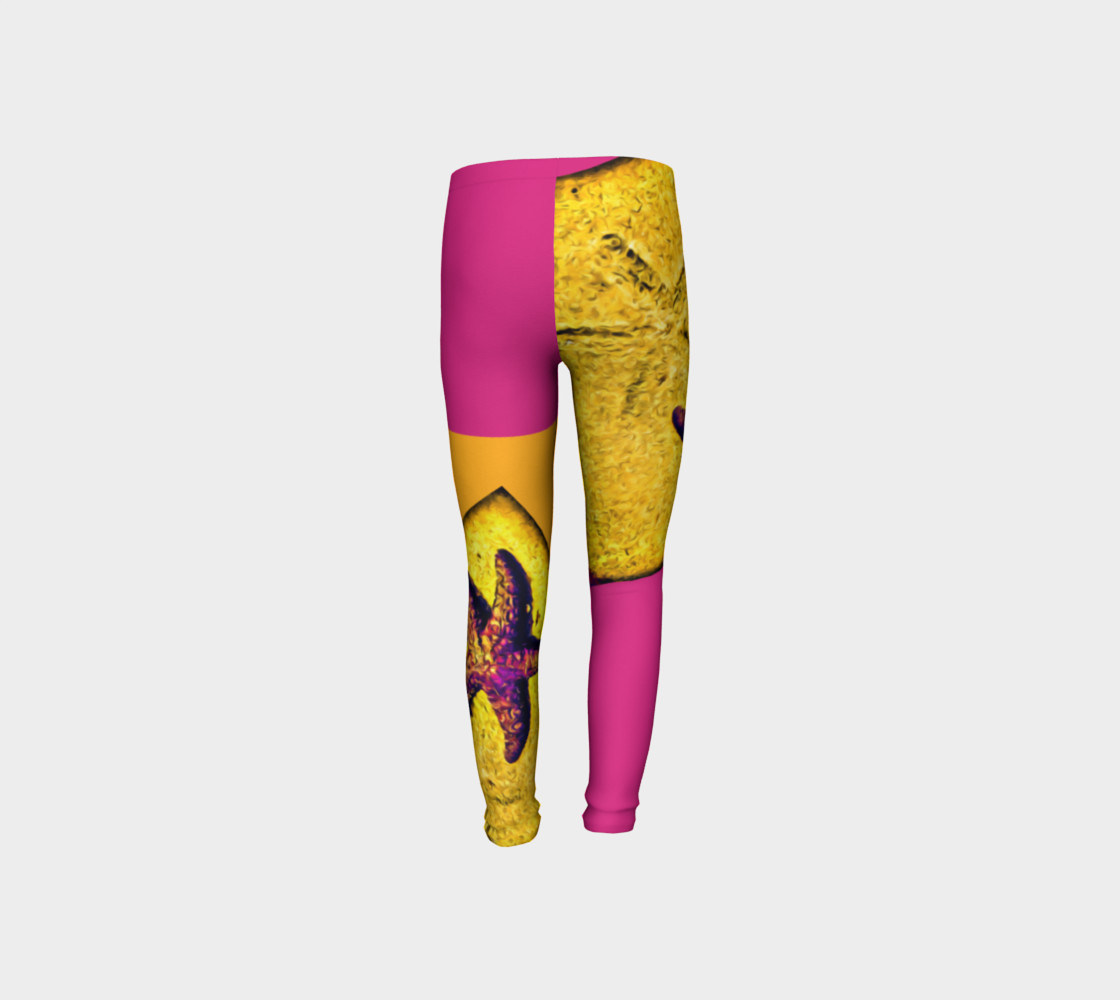 Star Track Youth Leggings preview #8