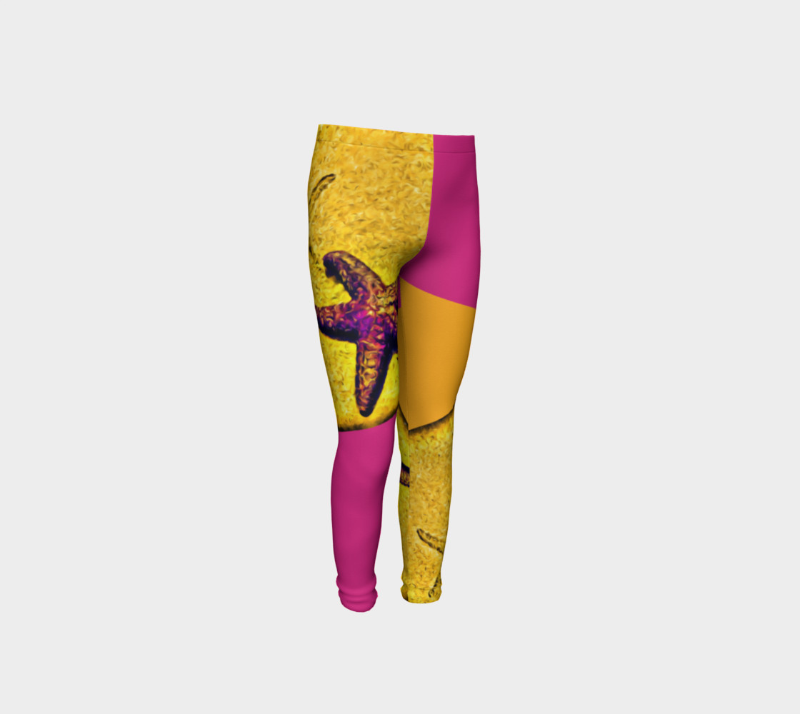 Star Track Youth Leggings preview #4