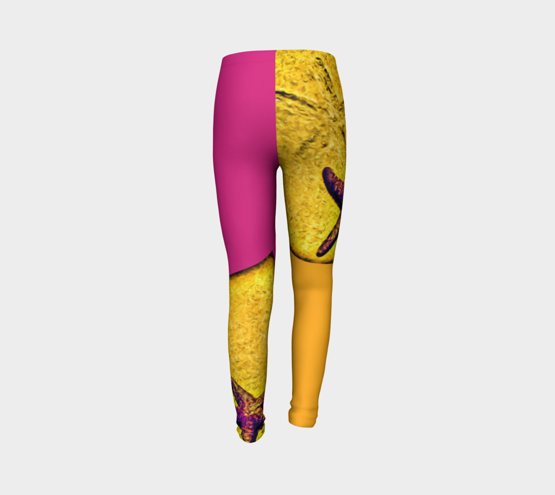 Star Track Youth Leggings preview #7