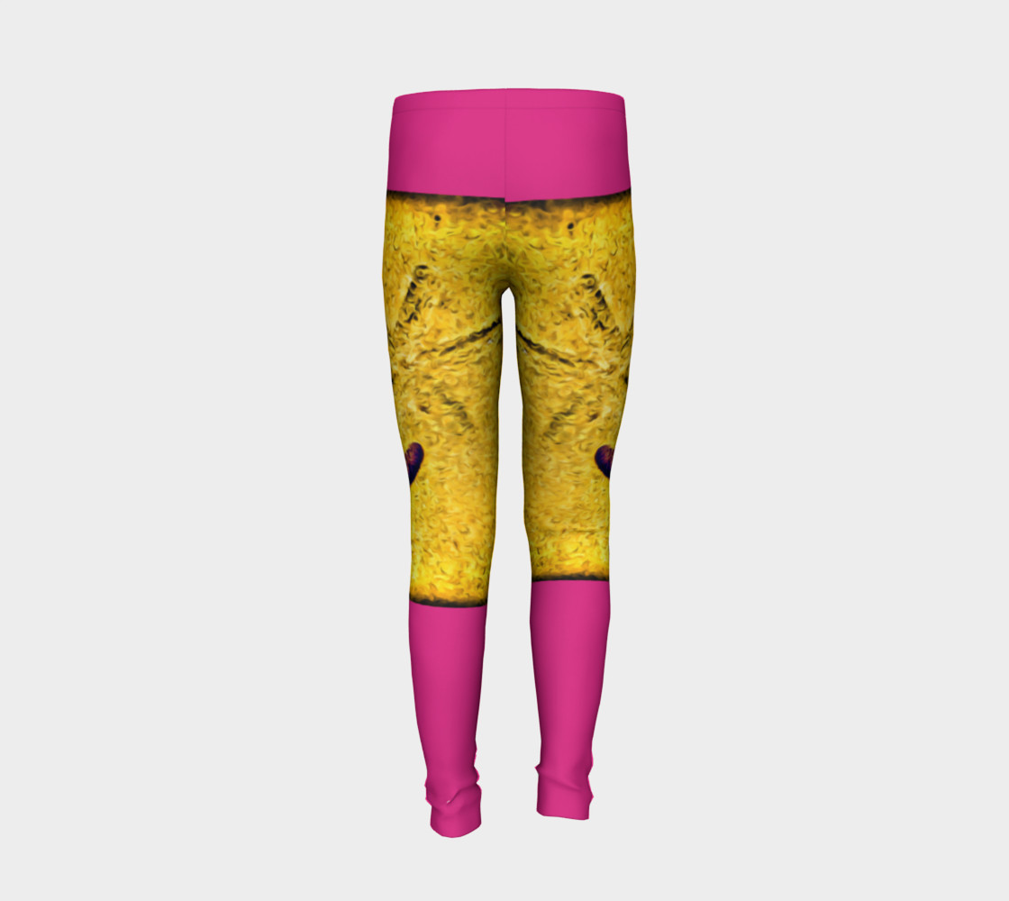 Star Track Youth Leggings preview #6