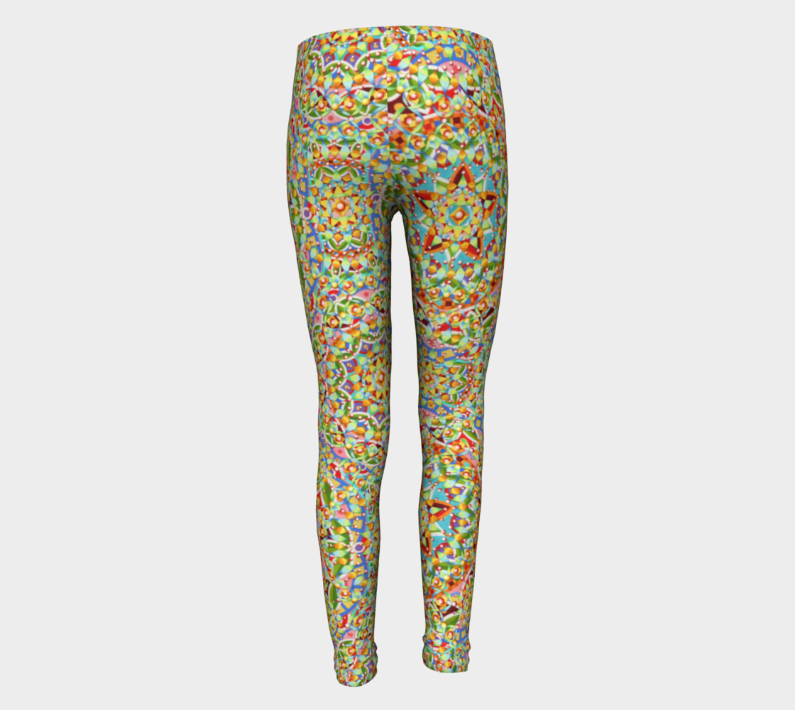 Candy Trinkets Youth Leggings preview #5