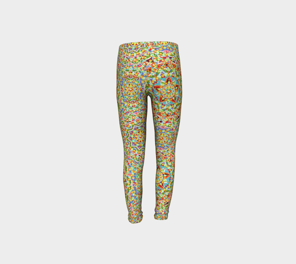 Candy Trinkets Youth Leggings preview #8
