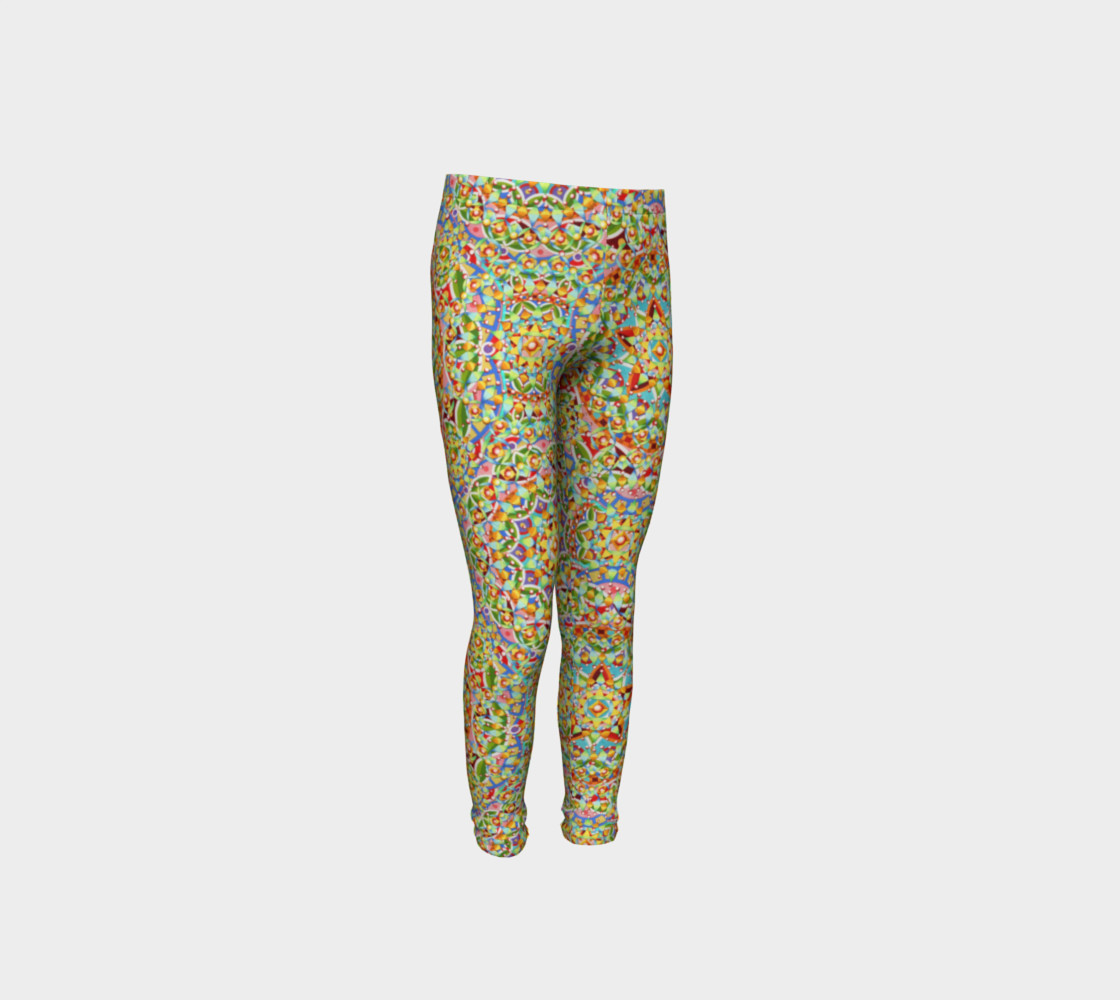 Candy Trinkets Youth Leggings preview #4