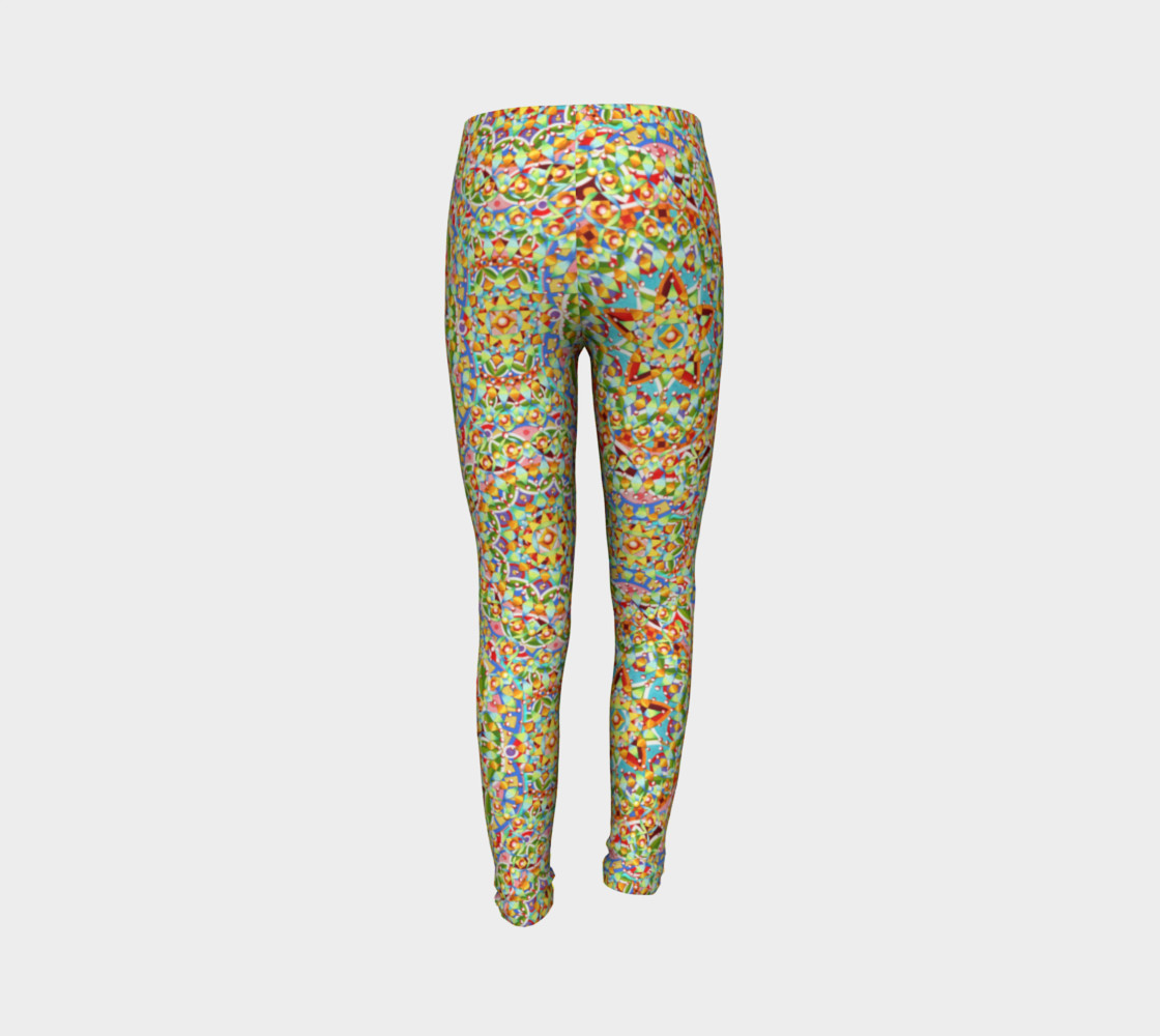 Candy Trinkets Youth Leggings preview #7