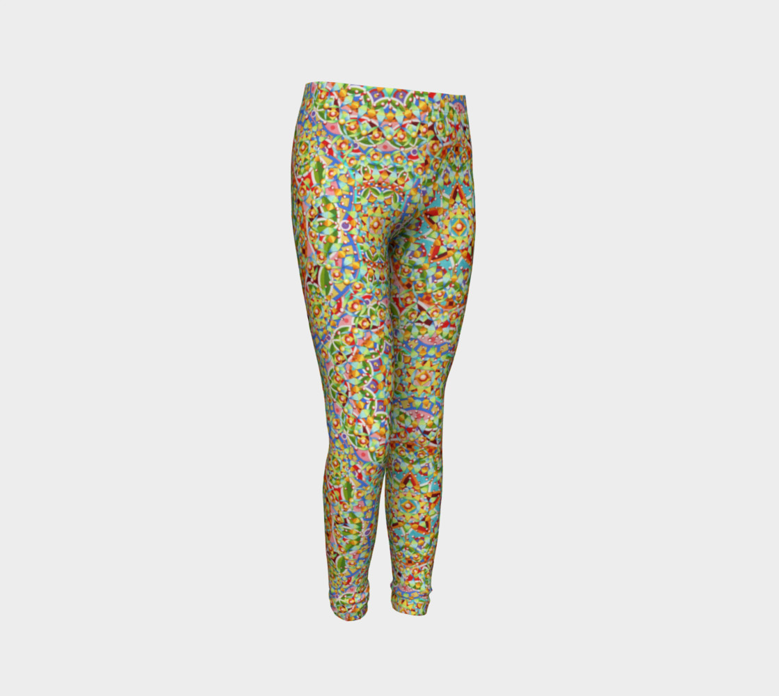 Candy Trinkets Youth Leggings preview #3