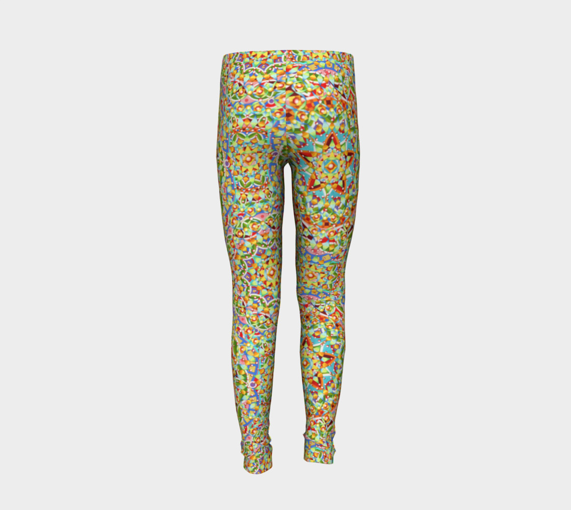 Candy Trinkets Youth Leggings preview #6