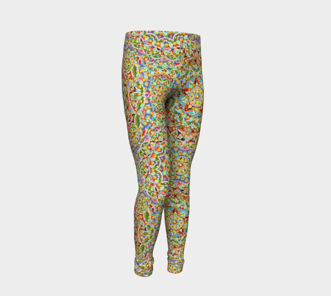 Candy Trinkets Youth Leggings preview #2