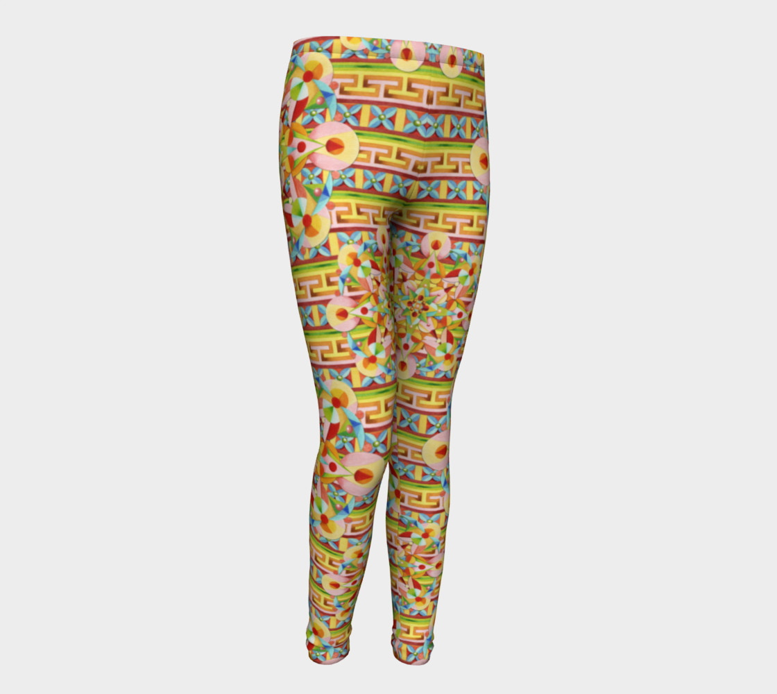 Carousel Youth Leggings preview #1