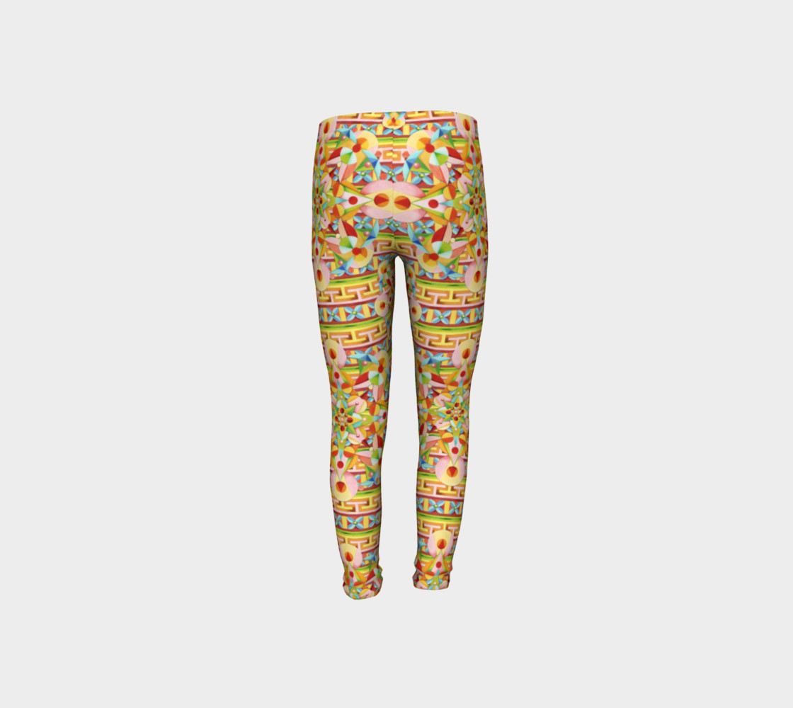 Carousel Youth Leggings preview #8