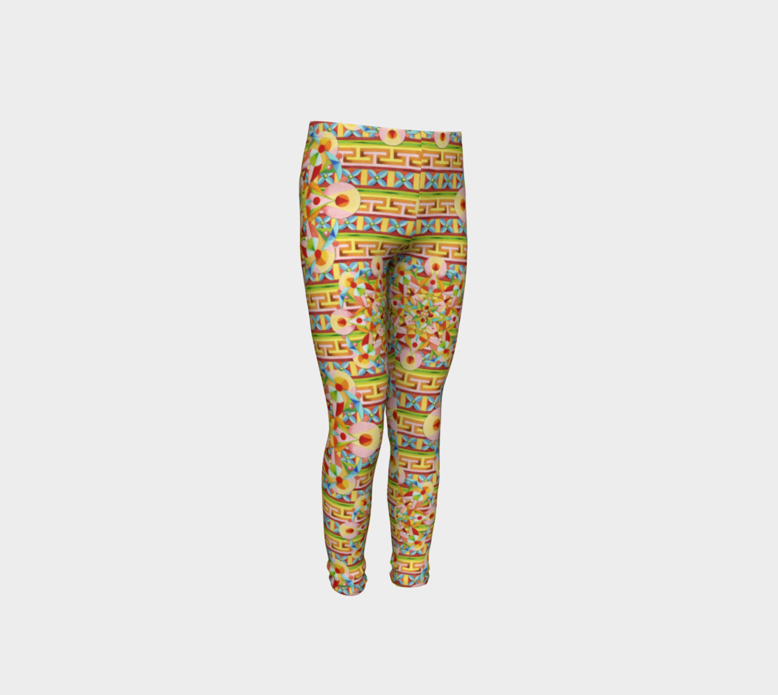 Carousel Youth Leggings preview #4