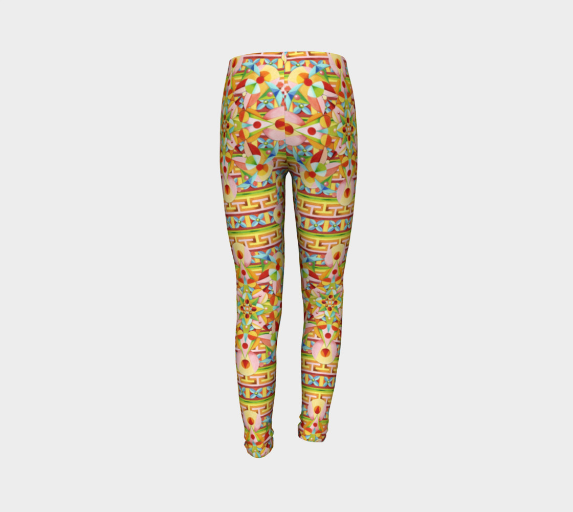 Carousel Youth Leggings preview #7