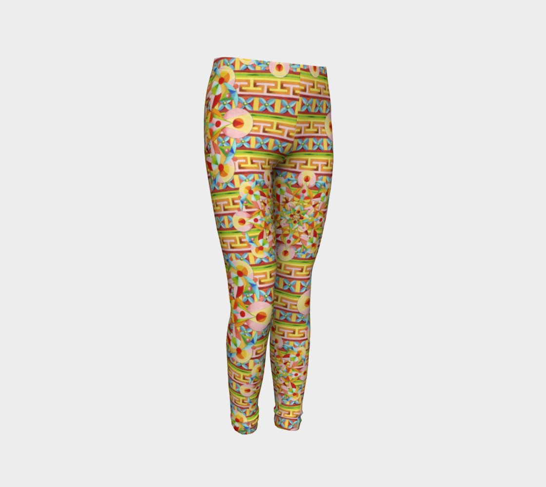 Carousel Youth Leggings preview #3