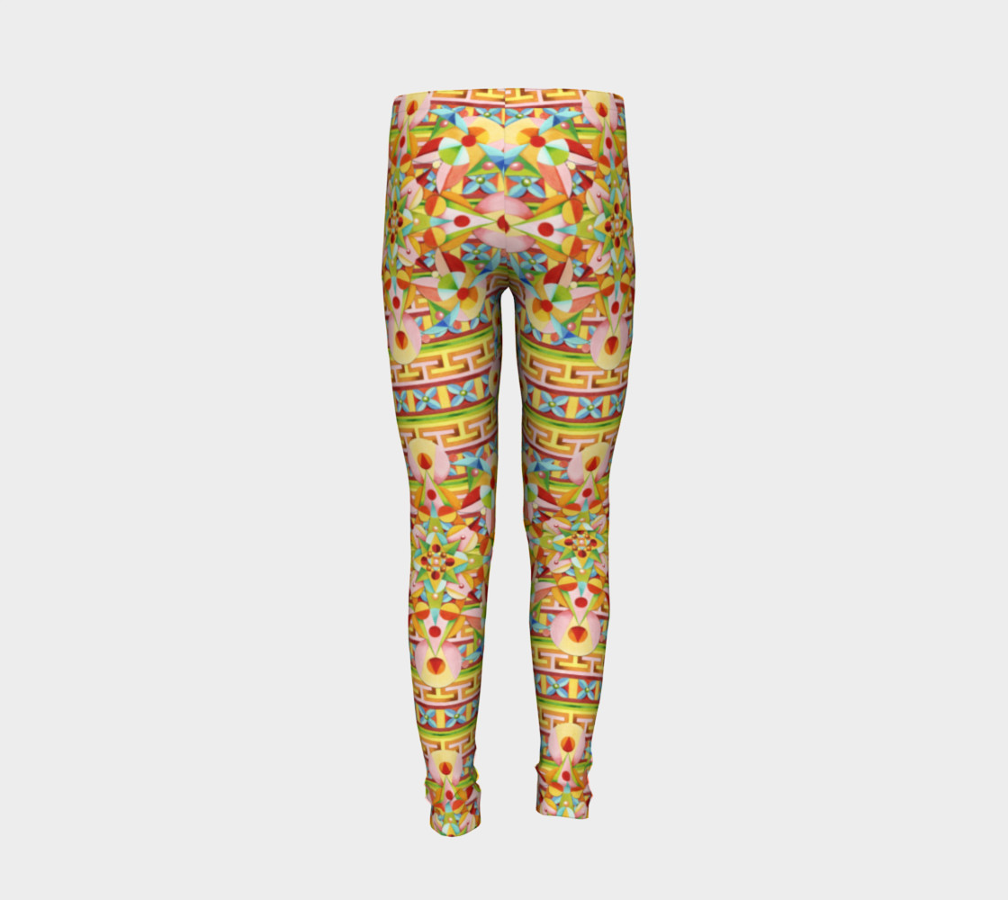 Carousel Youth Leggings preview #6