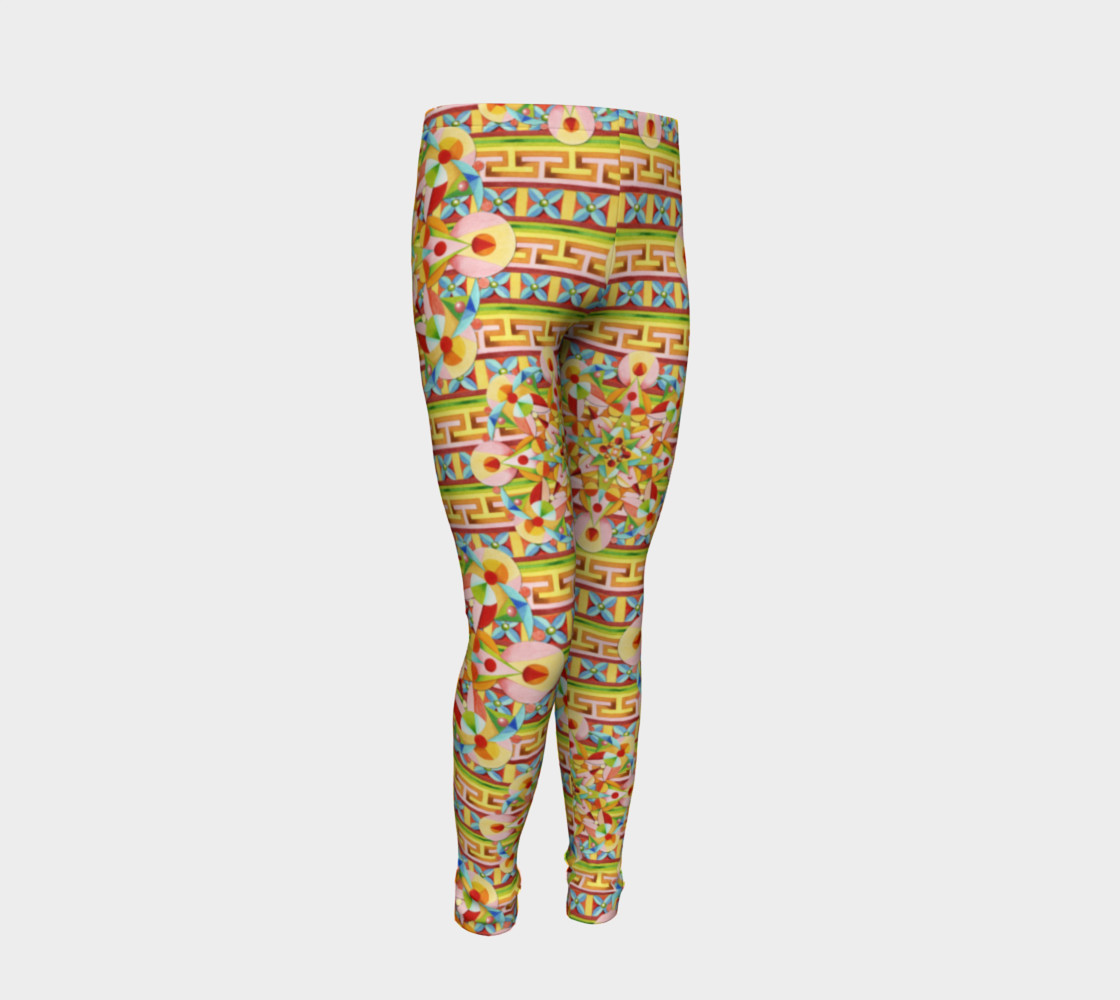 Carousel Youth Leggings preview #2