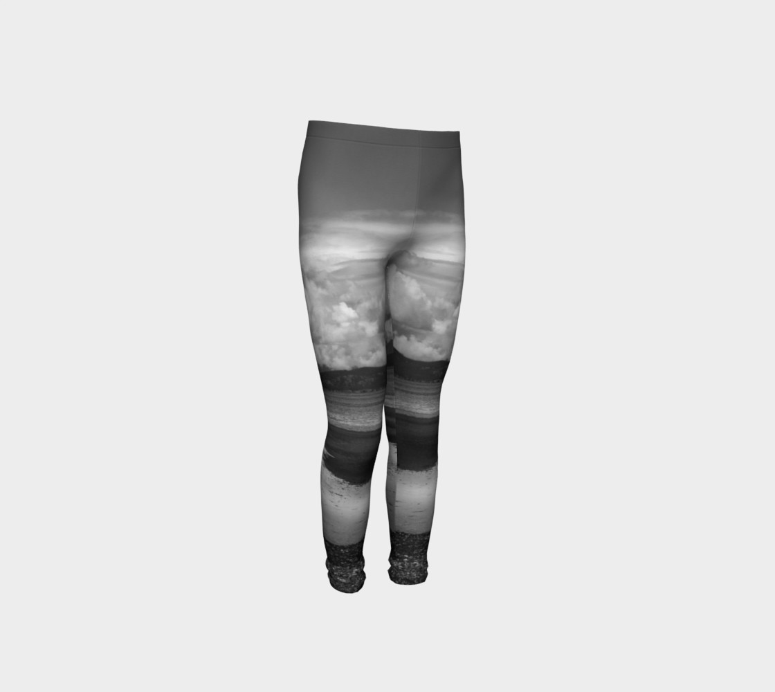 Parksville Beach Youth Leggings preview #4