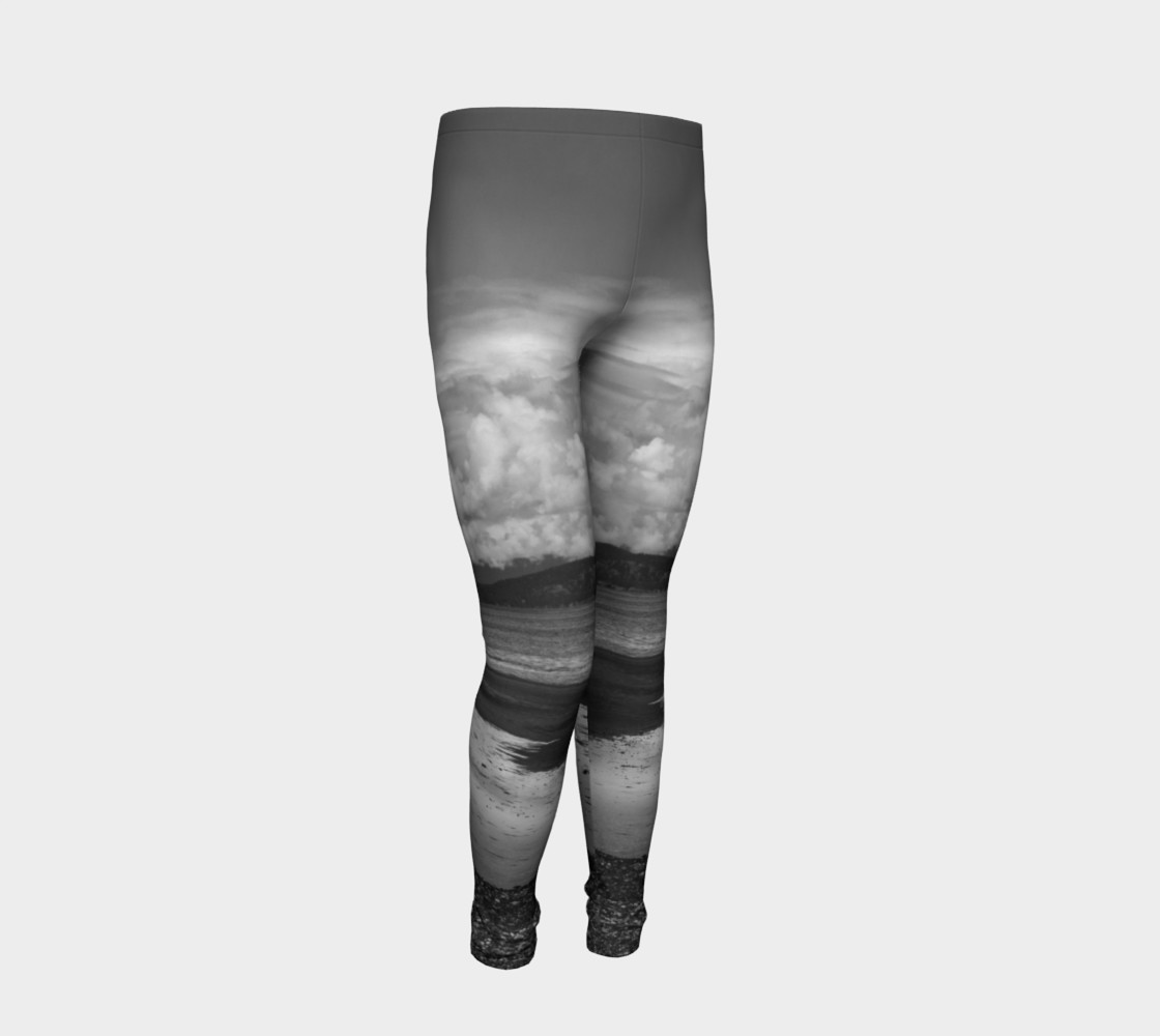 Parksville Beach Youth Leggings preview #2