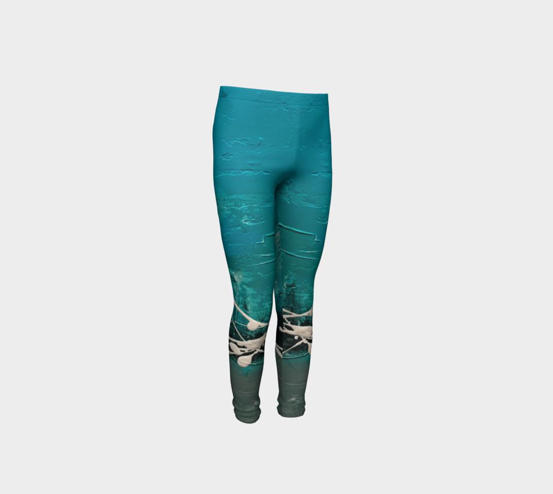 Matt LeBlanc Art Youth Leggings - Design 001 preview #4