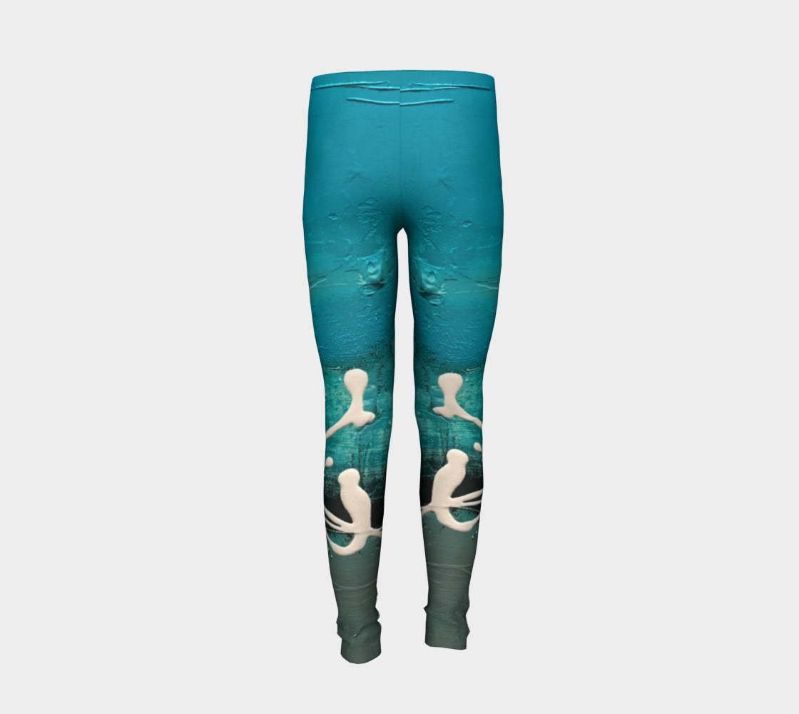 Matt LeBlanc Art Youth Leggings - Design 001 preview #6