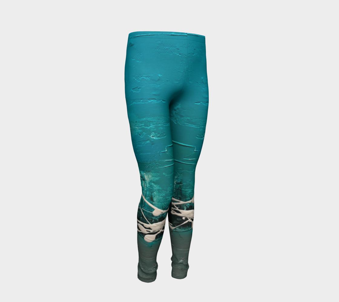 Matt LeBlanc Art Youth Leggings - Design 001 preview #2