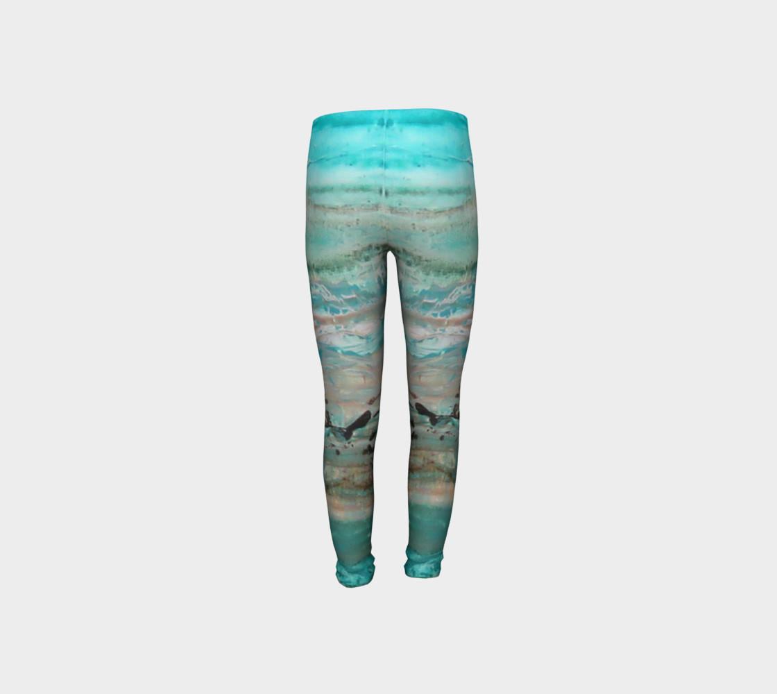 Matt LeBlanc Art Youth Leggings - Design 002 preview #8