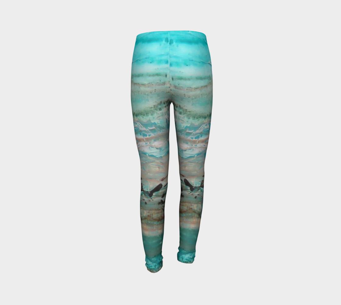 Matt LeBlanc Art Youth Leggings - Design 002 preview #7