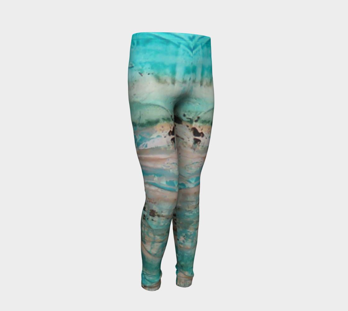 Matt LeBlanc Art Youth Leggings - Design 002 preview #2