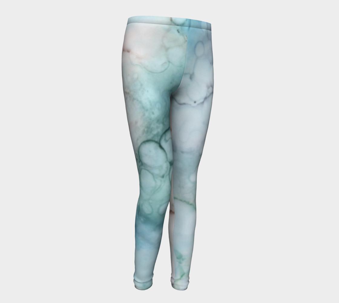 Soap & Bubbles Youth Leggings 1 - Fit Ages 4 - 12 preview #1