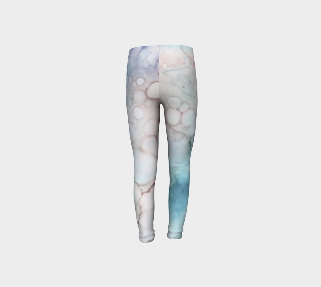 Soap & Bubbles Youth Leggings 1 - Fit Ages 4 - 12 preview #8