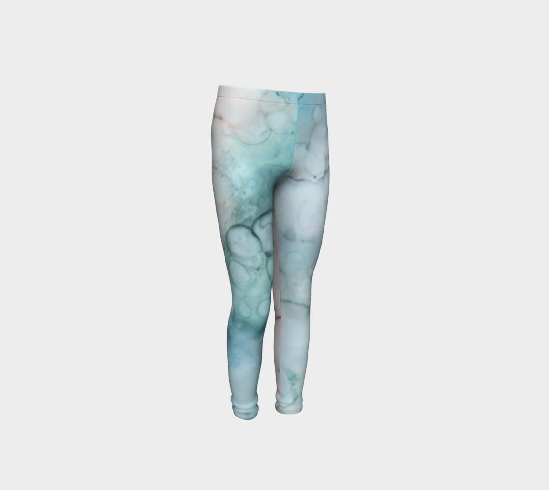 Soap & Bubbles Youth Leggings 1 - Fit Ages 4 - 12 preview #4