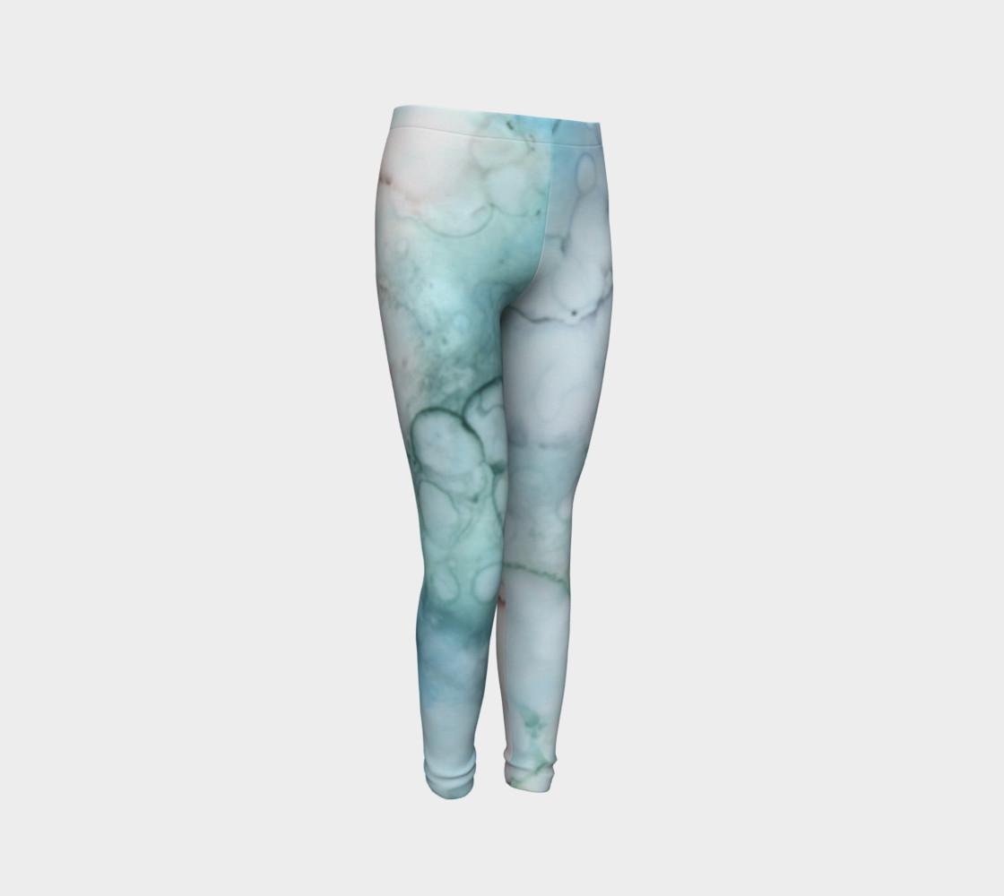 Soap & Bubbles Youth Leggings 1 - Fit Ages 4 - 12 preview #3