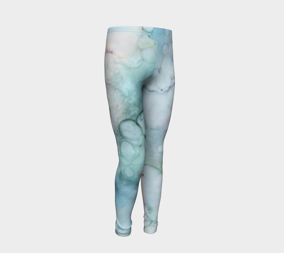 Soap & Bubbles Youth Leggings 1 - Fit Ages 4 - 12 preview #2