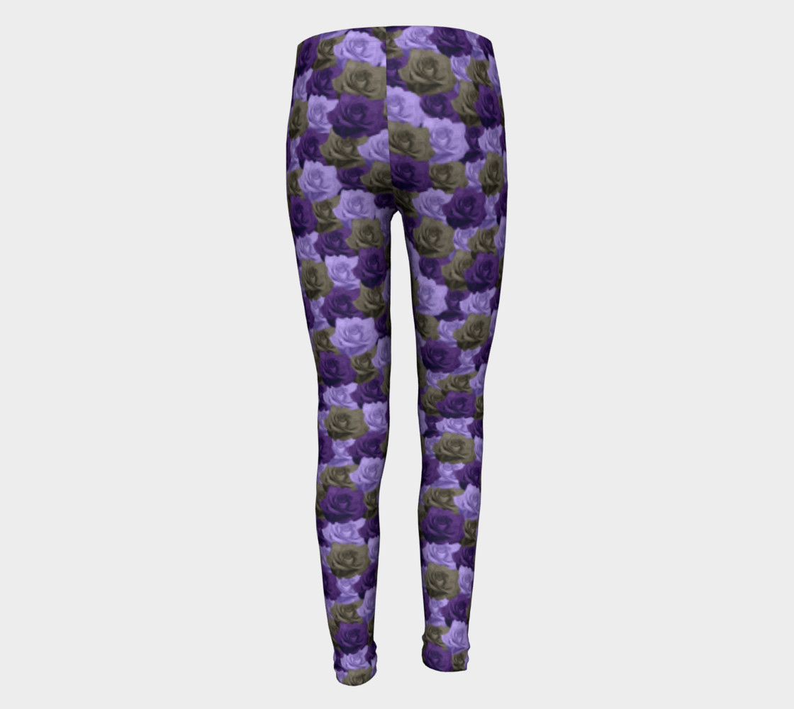 Roses Youth Leggings preview #5