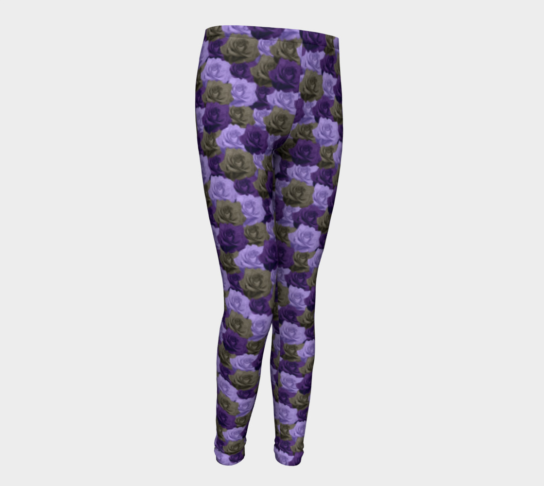 Roses Youth Leggings preview #1
