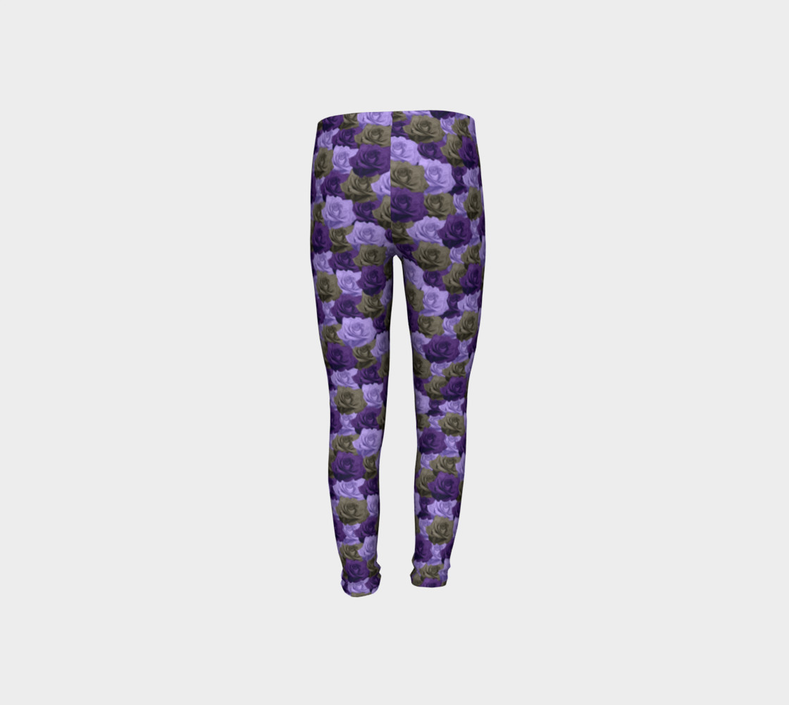 Roses Youth Leggings preview #8
